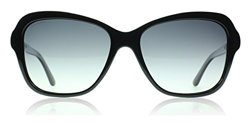 BV8142B Sunglasses Black/Polar Grey Gradient ()