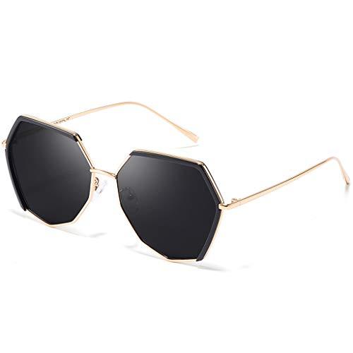 Box Sport de Luxe de Anciennes A Des Big de Soleil Lunettes Conduite Lunettes lunettes Femme B de soleil New Elegant Couleur Tide Pqzq4I6