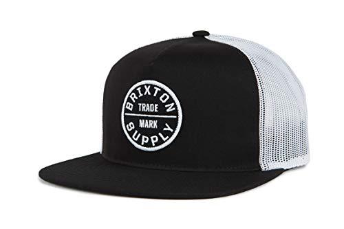 (Brixton Men's Oath III MESH Cap, Black, O/S)