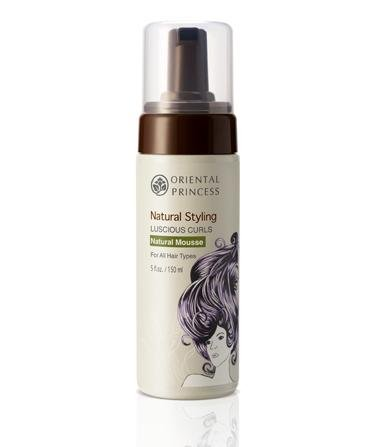 Oriental Princss Natural Styling Luscious Curls Natural Mousse for All Hair Types. 150g /5.25 Oz Aquolina Blue Sugar