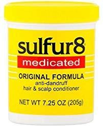 - Sulfur8 Medicated Anti-Dandruff Hair and Scalp Conditioner Original Formula, 7.25 oz