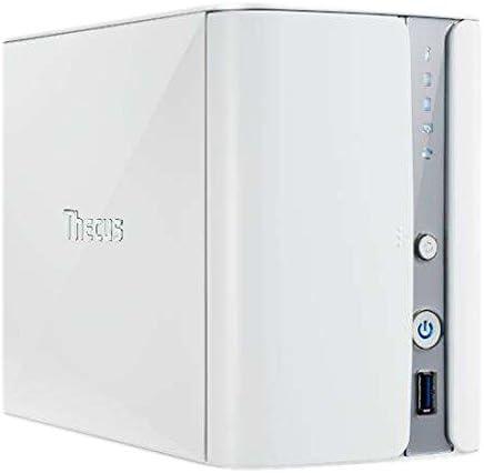 Thecus N2560 NAS Torre Ethernet Blanco Servidor de Almacenamiento ...