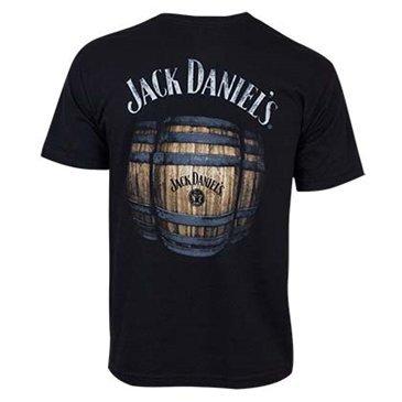 Jack Daniels Men's Daniel's Barrels T-Shirt Black XX-Large]()