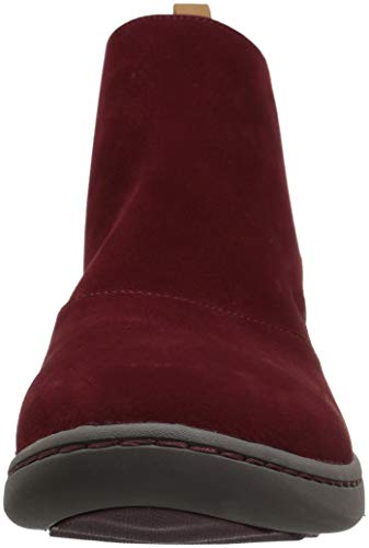 Move Us Burgundy Boot Ankle Step Up Women's Clarks Synthetic 080 M wE1Fvqn