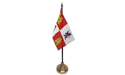 UKFlagShop Paquete de 3 Banderas de Castile and Leon España para ...