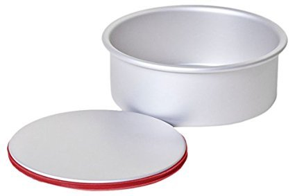Wilkinson PushPan Round 10 by 2-Inch Aluminum Cake Pan, S...