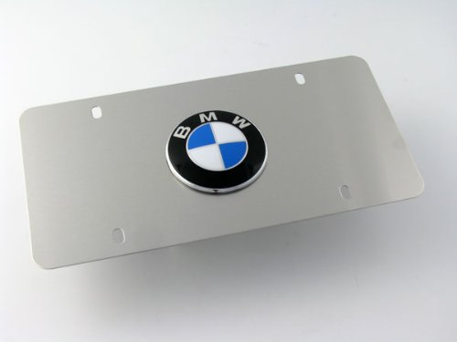 BMW 82-12-1-470-312 NUMBER PLATE FRAME R - Bmw Number Plate