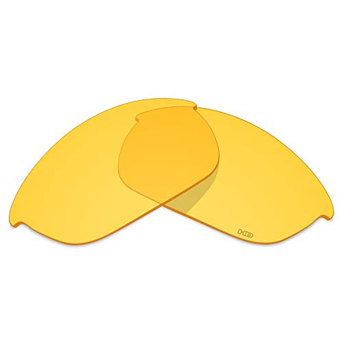 Mryok+ Polarized Replacement Lenses for Oakley Half Jacket 2.0 - HD Yellow