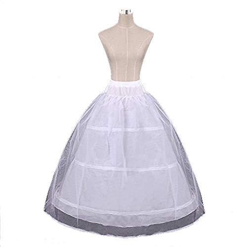 遺産協定フィットパニエ ロングスカート ドレスボリューム ボリュームアップ 3段 単層 3本ワイヤー 大人用 オフホワイト XLサイズ ワイヤ調整可能 花嫁 結婚式