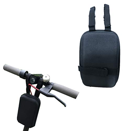 Flycoo2 Front Carrying Storage Bag for Xiaomi M365 Ninebot Segway Electric Scooter Bike Bicycle Handlebar Bag Universal Head Pack Portable Adjustable
