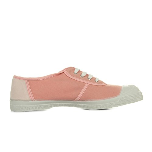 Basket Tennis Bensimon Rose Oldschool F15249c19b410 Lacets HXqXdAxnwT