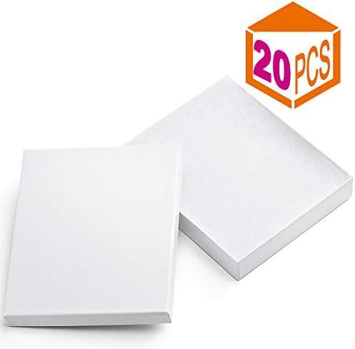 MESHA Cardboard Jewelry 8x5 5x1 25 Cotton product image