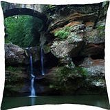 Old Man's Cave Ohio - Throw Pillow Cover Case (18