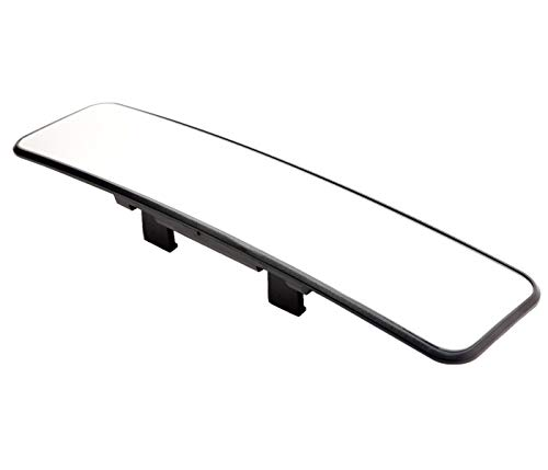 Kitbest Rear View Mirror, Convex Rearview Mirror Interior Clip on Wide Angle Rear View Mirror to Reduce Blind Spot Effectively