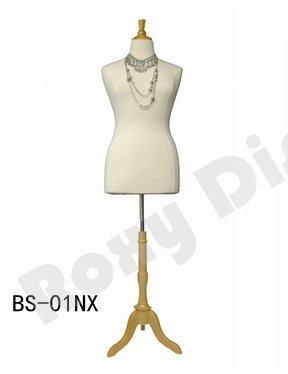 Amazon.com: (JF-F14/16W+BS-01NX) Size 14-16 White Female Dress Form ...