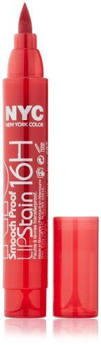 New York Color Smooch Proof Lip Stain, Rock On Ruby, 0.1 Fluid Ounce by N.Y.C. from N.Y.C.