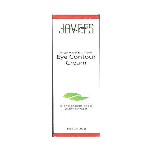 (Jovees Eye Contour Cream with Hazel & Almond Remove Dark Circles & Puffiness)