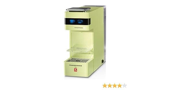 Illy Francis Y3.Ipere Mediaespresso Cafetera Eléctrica, Color Verde: Amazon.es: Hogar