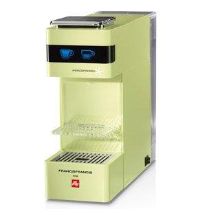 Illy Francis Y3 ipere mediaespresso Cafetera Eléctrica, color ...