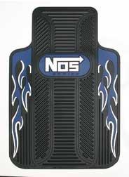 Gray NOS Series Universal-Fit Molded Front Floor Mat - Nos Floor Mats