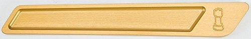 - Rooke Gold Saddlebag Latch Insert R-BLI14-T6
