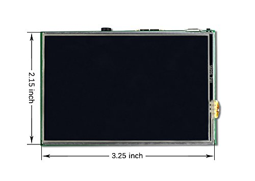 UCTRONICS 3.5 Inch TFT LCD Display SPI with Touch Screen, Touch Pen for Raspberry Pi 3 B+, 3 Mode B,Pi 2 Model B, Pi Zero, Pi B+ by UCTRONICS (Image #2)