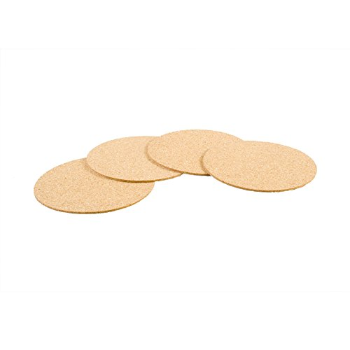 Cork Circles with Self-Adhesive Backing - 3-1/2