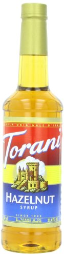 Torani Syrup, Hazelnut, 25.4 Ounce (Pack of 4)
