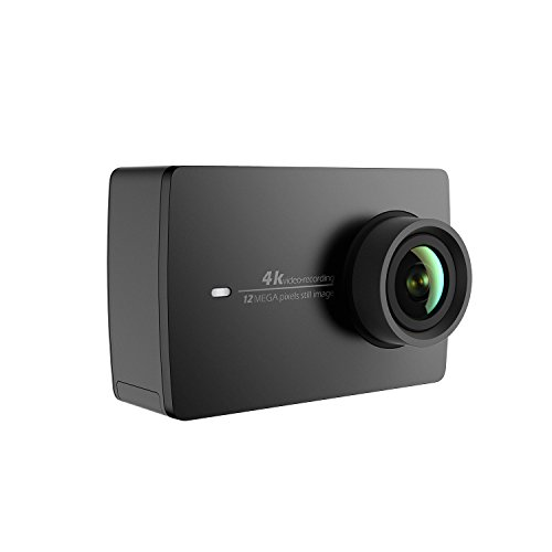 YI 4K Action and Sports Camera, 4K/30fps Video 12MP Raw Image with EIS, Live Stream, Voice...
