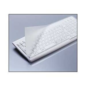 (業務用セット) エレコム(ELECOM) フリータイプキーボードカバー フルキーボード用 【×5セット】 dS-1644239 B01LP4037E