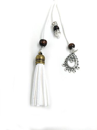 Exotic Women Waist Belt// Rope//Chain with Tassel and Beads in 8 Colors