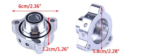 Blow Off Valve Dump Adaptor Spacer Plate Fit For BMW Mini Cooper Peugeot 207 GT GTI 307 /& 308