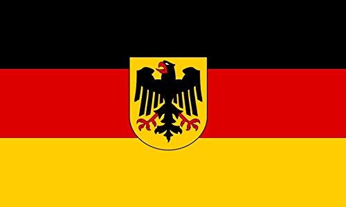 Germany Flag Decal Eagle Crest German Deutschland Vinyl Car Window Sticker Car Bumper Window VAR