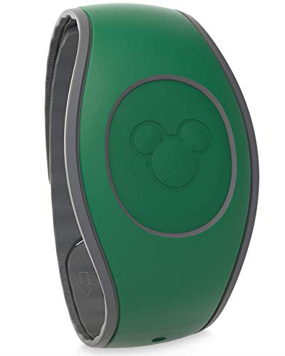 - DisneyParks MagicBand 2.0 - Link It Later Magic Band - Dark Green