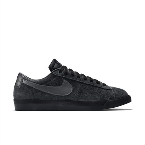 Nike SB Blazer Low Grant Taylor Skate Shoes All Black Suede - 7