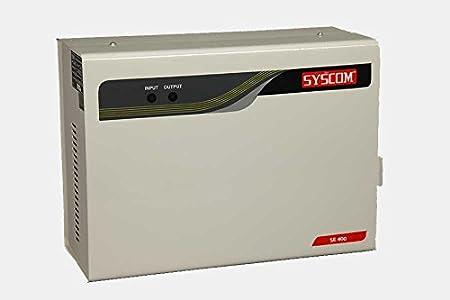 Syscom 4 KVA AV STABILIZER - SE - 400 Lab & Scientific Products at amazon
