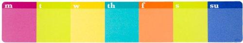 Lulalu Keyboard Paper Pad Stripe Weekly by Lulalu
