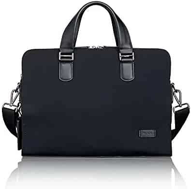 TUMI - Harrison Seneca Laptop Slim Brief Briefcase - 15 Inch Computer Backpack for Men and Women - Black