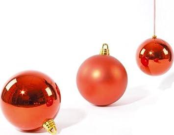 Christbaumkugeln Rot 15 Cm.Christbaumkugeln Weihnachtskugeln Dekokugeln 15 Cm Rot 3 Stk Glänzend Matt