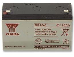 10000/mAh 6/V Batterie Rechargeable YUASA NP10/ /6/Acide plomb VRLA