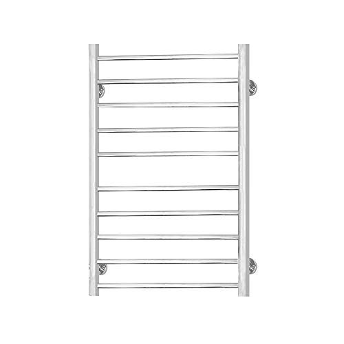 - TOYEEKA Towel Warmer Wall Mounted 10 Bar Hardwired Curved Towel Electric Warm Bath Towel Heater