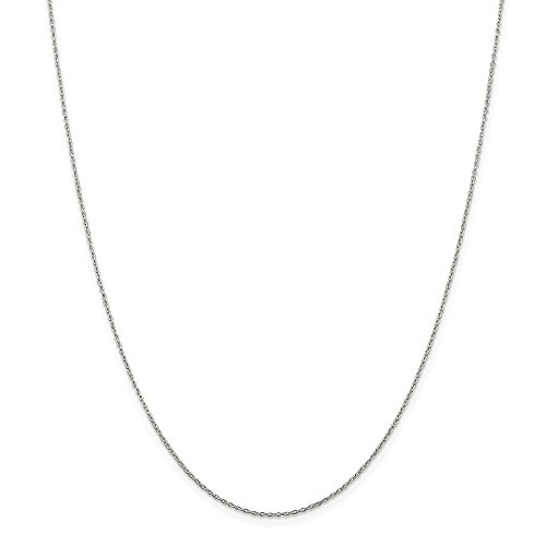 - Beautiful Sterling silver 925 sterling Sterling Silver 1.30mm Cable Chain
