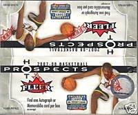 2007-08 Fleer Hot Prospects Basketball Box from Upper Deck