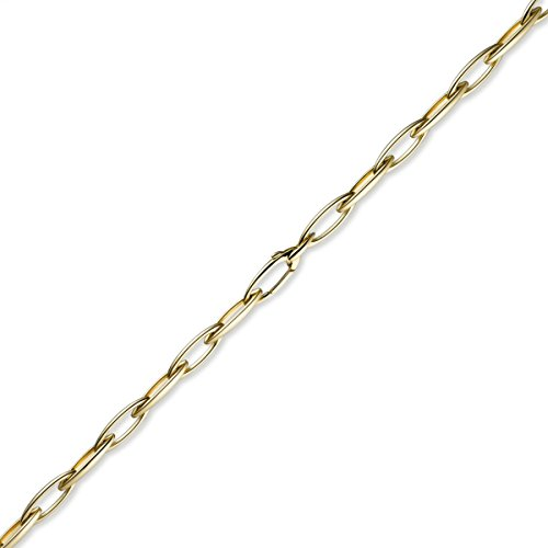 8 Mm couleur spitzankerkette les bracelets bracelet en or jaune 585 19 cm