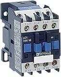 SCHNEIDER ELECTRIC LC1D32B7 CONTACTOR, 3PST-NO, 24VAC, 50A, DIN RAIL