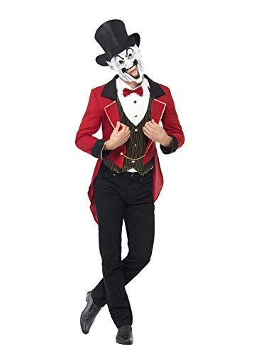 Sinistre Cirque Déguisement Loyal Veste Homme Monsieur Smiffys wH1qZOR