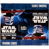 MLB Star Wars Clone Wars Rise of the Bounty Hunters Trading - Box Card Rise
