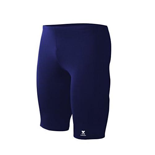 b44b71b7b3 TYR Men's Durafast Elite Solid Jammer Swim Suit (Size:36 Color:Navy ...
