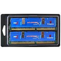 KHX5400D2K2512 - Kingston HyperX 512MB DDR2 SDRAM Memory Module - 512MB (2 x 256MB) - 675MHz DDR2-675/PC2-5400 - Non-ECC - DDR2 SDRAM - 240-pin