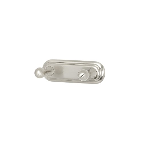 - Alno A9086-SN Embassy Traditional Robe Hooks, Satin Nickel